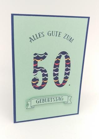 Stampin' Up Berlin Geburtstagskarte Mann Runder Geburtstag 1 mitliebeundpapier.wordpress.com