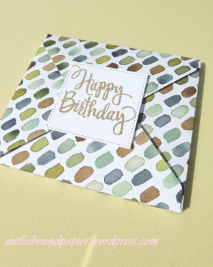 Stampin' Up Berlin DIY Geschenkverpackung Envelope Punchboard Stylized Birthday 1 mitliebeundpapier.wordpress.com