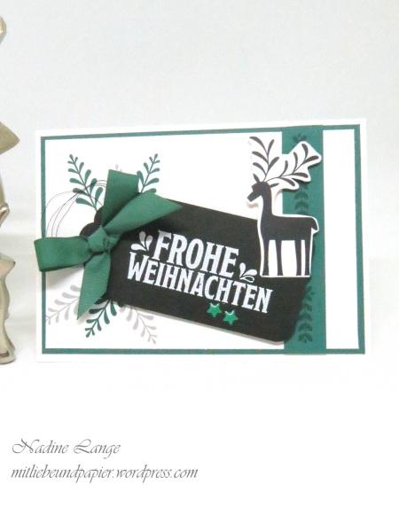 Stampin' Up! Berlin Unterm Mistelzweig DIY Weihnachtskarte 1 mitliebeundpapier.wordpress.com