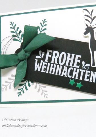 Stampin' Up! Berlin Unterm Mistelzweig DIY Weihnachtskarte 3 mitliebeundpapier.wordpress.com