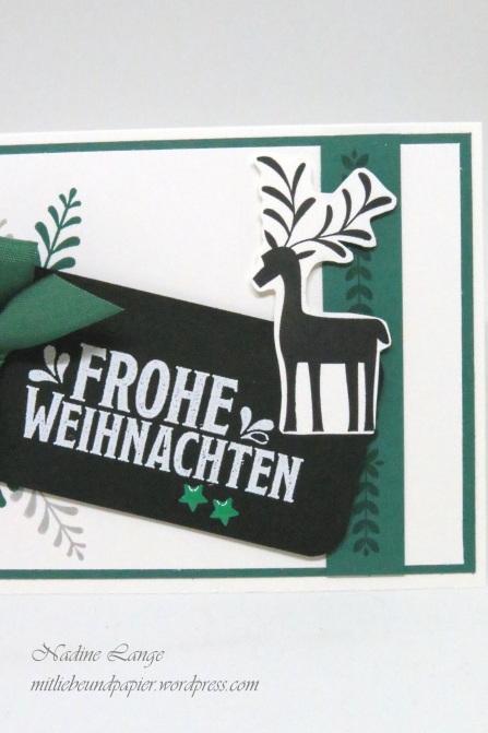Stampin' Up! Berlin Unterm Mistelzweig DIY Weihnachtskarte 5 mitliebeundpapier.wordpress.com