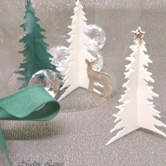 diy tischdeko f r den weihnachtstisch stampin up wie. Black Bedroom Furniture Sets. Home Design Ideas