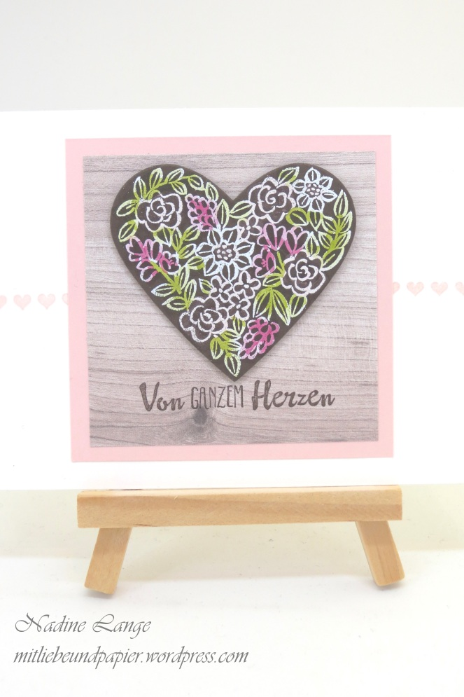 Stampin' Up! Berlin Karte selbstgebastelt Muttertag Heart Happiness Blütentraum Stampin' blends Holzdekor 2 mitliebeundpapier.wordpress.com