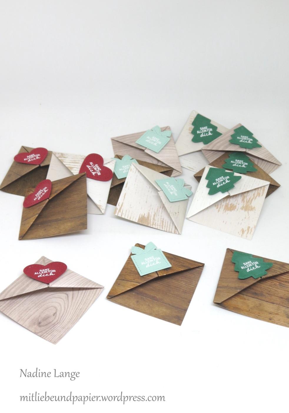 Beeindruckend Lesezeichen Basteln Aus Papier Foto Von Katalogversand Teil 2 – Die Geschenke (stampin