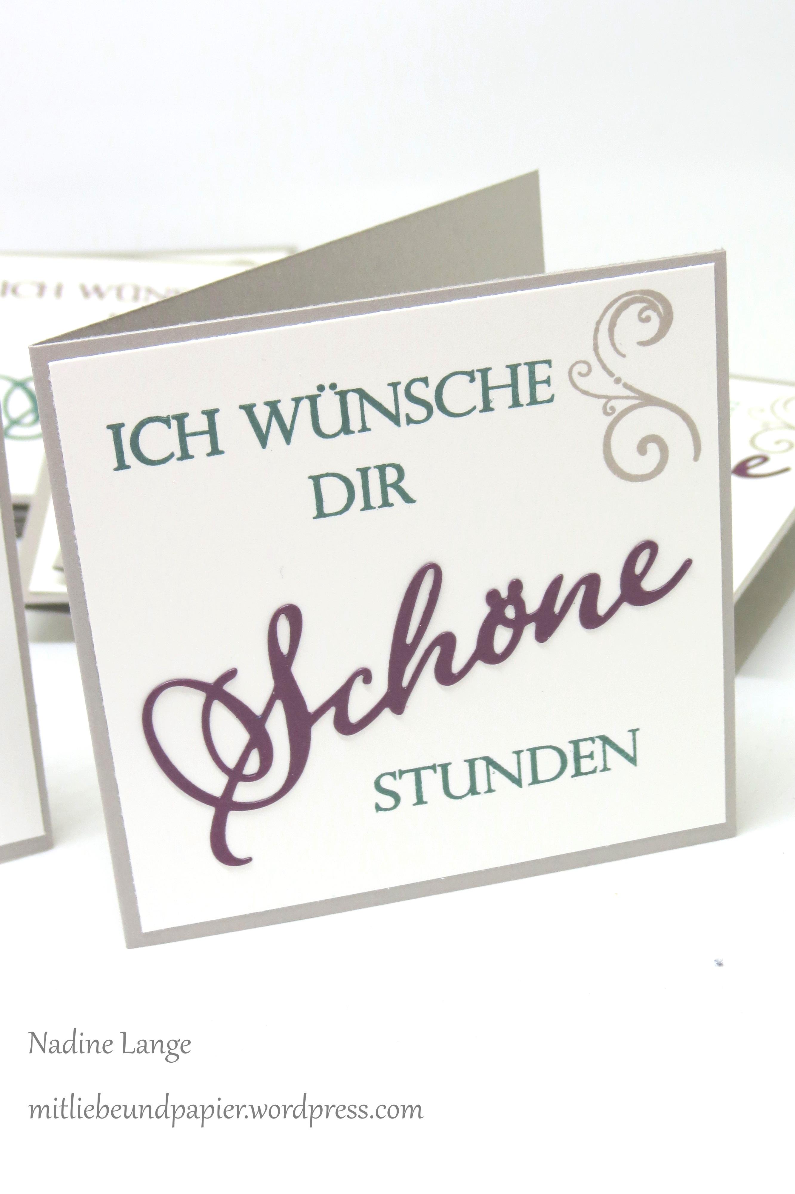 Stampin\' Up! Berlin Weihnachten Karte DIY Weihnachtliche Vielfalt ...