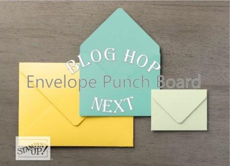 Envelope Punch Board Blog Hop 1
