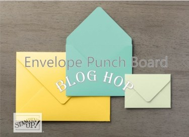 Envelope Punch Board Blog Hop 2