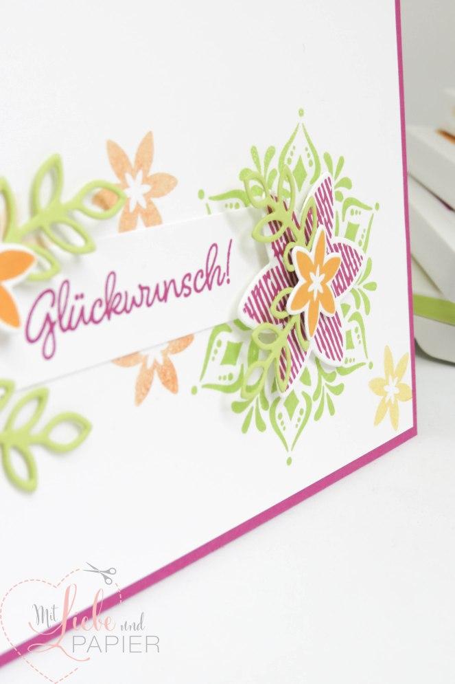Stampin' Up! Berlin Flockengestöber Glanzfarbe Weihnachten Karten 6 mitliebeundpapier.wordpress.com