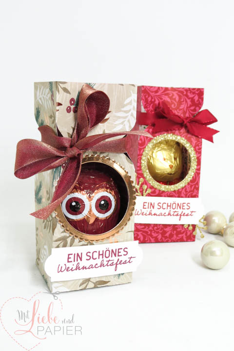 Stampin' Up! Berlin Anleitung Lindt Verpackung Envelope Punchboard Süße Adventsgrüße Elegante Weihnachten 3 mitliebeundpapier.wordpress.com