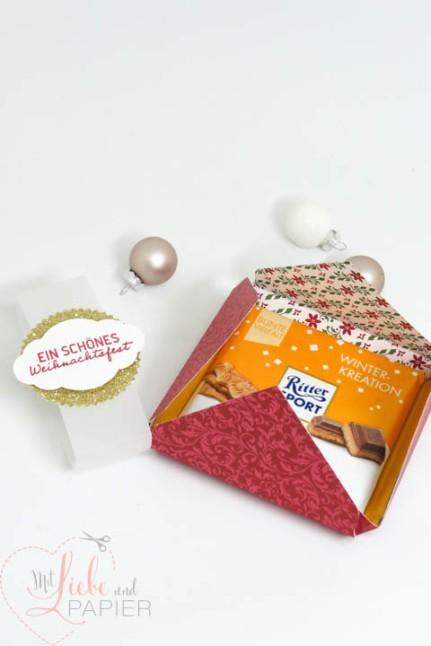 Stampin' Up! Berlin Anleitung Ritter Sport Verpackung Schokolade Elegante Weihnachten Süße Adventsgrüße 5 mitliebeundpapier.wordpress.