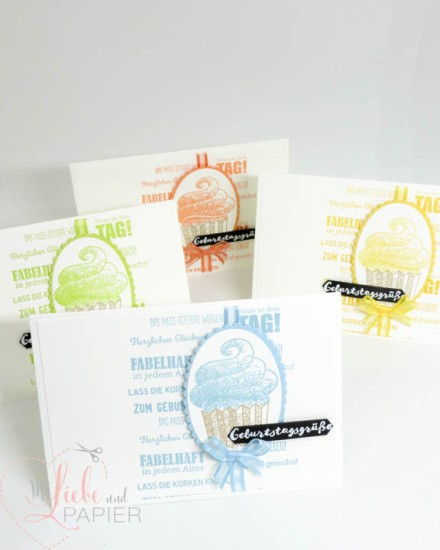 Stampin' Up! Berlin Geburtstagsmix Süße Grüße für dich Sale A Bration 2019 Frühjahr-Sommer-Katalog Karte Muffin Stamparatus 4 mitliebeundpapier.wordpress.com