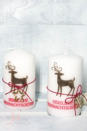 Stampin' Up! Berlin Anleitung Kerze bestempeln Weihnachtshirsch Workshop Weihnachtsgeschenk basteln 1 mitliebeundpapier.wordpress.com
