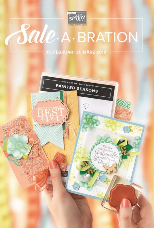 Stampin' Up! Sale a Bration 2 Titel 2019