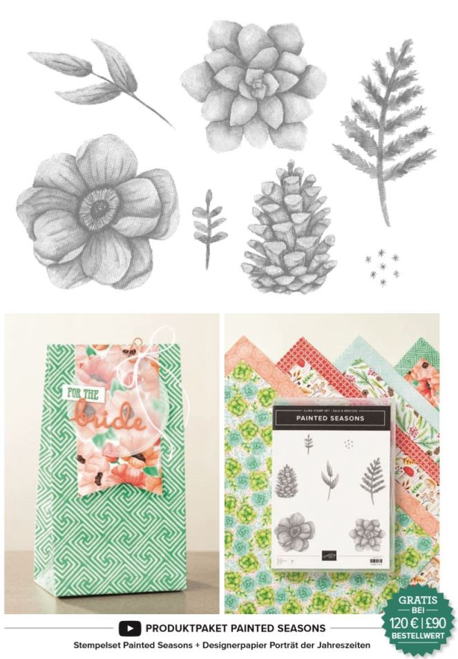 Stampin' Up! Sale a Bration Produktpaket Painted Seasons 2019