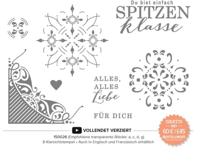 Stampin' Up! Sale a Bration Vollendet Verziert 2019