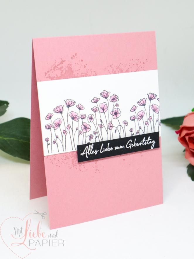 Stampin' Up! Painted Poppies Zum Geburtstag für dich Sale A Bration 2 mitliebeundpapier.wordpress.com