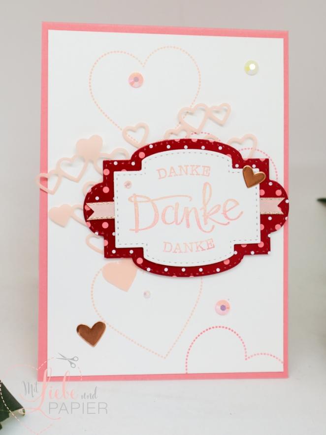 Stampin' Up! Berlin So gesagt Muttertag Besondere Karte Herzregen Von Herzen Painted Poppies 1 mitliebeundpapier